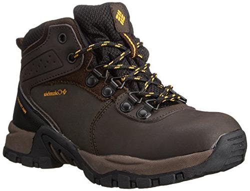 Columbia Youth Newton Ridge Waterproof Hiking Boot , Cordova