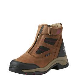 Ariat® Ladies Brown Waterproof Terrain Pro Zip Hiking Boot