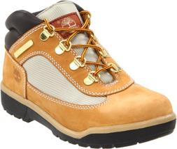 Timberland Leather and Fabric Field Boot ,Wheat,6 M US Toddl