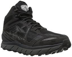 Altra Lone Peak 3.5 Mid Mesh Men's Trail Running Shoe, Black