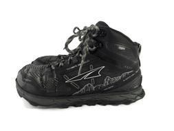 Altra Lone Peak 4 Mid Hiking Shoes/ Boots Black Men's size 8