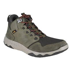 Teva Men's M Arrowood Mid Waterproof Hiking Boot, Dark Olive