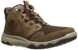 Teva Men's M Arrowood Mid Waterproof Hiking Boot, Bison, 7 M