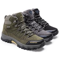 Man Skid Resistance Boots Hiking Climbing Mountaineering Out