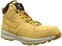 NIKE Men's Manoa Leather Boot, Haystack/Haystack/Velvet Brow