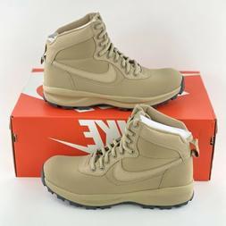 Nike Manoadome Khaki Men's Boots Tan Hiking Trail Leather Bo