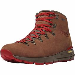 "MEN'S 4.5"" DANNER MOUNTAIN 600 HIKING BOOTS BROWN/RED 62241"