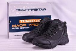 Men's Skechers 65115/BLK Pedley- Aster Hiking Boots Black