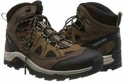 Salomon Men's Authentic LTR GTX Backpacking Boot, Black, Siz