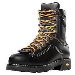 Danner Men's Black 14547 Waterproof Quarry Work Boots