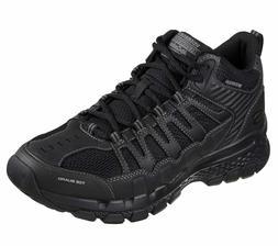 Skechers Men's Black BLK Outland 2.0 Girvin Hiking Sport Cas