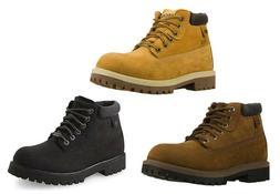 SKECHERS Men's Comfortable Leather Waterproof Boots in 3 Col