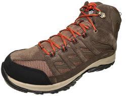 Columbia Men's Crestwood Mid Waterproof Hiking Boots DK Brow
