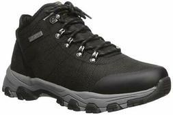 Skechers Men's DOVENO-MOLENS LACE UP Boot Hiking, Black, Siz