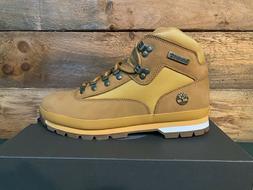 Timberland Men's Euro Hiker L/F Mid Hiking Boots Wheat Nubuc