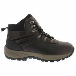 Eddie Bauer Men's Everett Hiking Leather Boots Shoes Chestnu