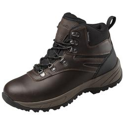 EDDIE BAUER MEN'S EVERETT WATERPROOF GENUINE LEATHER HIKING