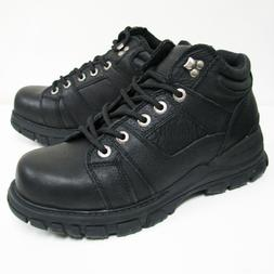 Men's Hiker Black Full Grain Leather Waterproof Hiking Walki