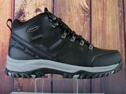 0a4e010497a Skechers Men's Hiking Boots Work Black W...