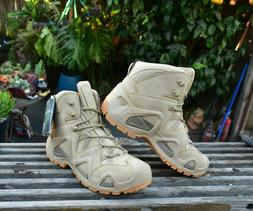 MEN'S HIKING BOOTS LOWA ZEPHYR MID TF DESERT BOOTS SZ 9 USA/