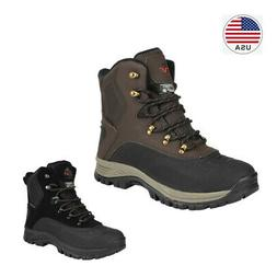 Men's Insulated Waterproof Construction Hiking Boots Winter