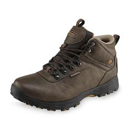 Coleman Men's Kent Brown Waterproof Hiking Boot Brown Slip r