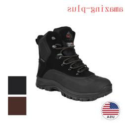 Men's Lace Up  Insulated Waterproof Hiking Winter Warm Snow