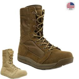 men s military tactical combat army boots