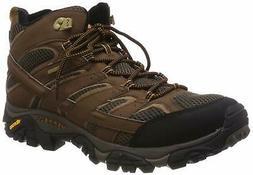 Merrell Men's Moab 2 Mid Gtx Hiking Boot, Earth, 7 - Choose