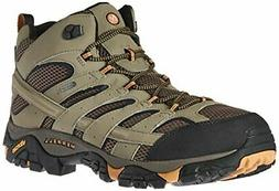 Merrell Men's Moab 2 Mid Gtx Hiking Boot Walnut Size 7US