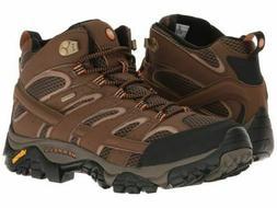 Merrell Men's Moab 2 Mid Waterproof Hiking Boot, Size 11.5 M