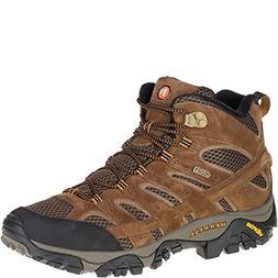 Merrell Men's Moab 2 Mid Waterproof Hiking Boot, Earth, 10 M