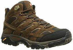 Merrell Men's Moab 2 Mid Waterproof Hiking Boot Earth 9.5 M