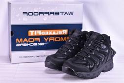 Men's Skechers Morson Gelson Hiking Boots Black
