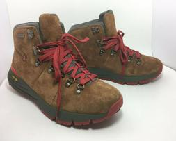 """Danner Men's Mountain 600 4.5"""" Brown Red Ankle Hiking Boots"""