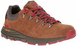 "Danner Men's Mountain 600 Low 3"" Brown/Red Hiking Shoe"