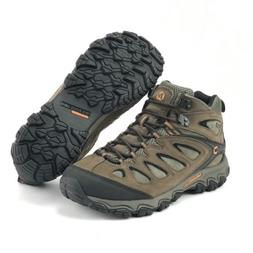 Merrell Men's Pulsate Mid Waterproof Black Bracken Hiking Bo