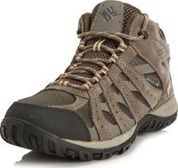 Men's Columbia Redmond Waterproof Mid Hiking Boots Brown Bei