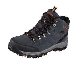 Skechers Men's Relaxed Fit Relment Pelmo Hiking Boot Gray
