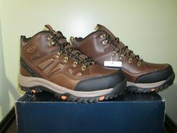 Skechers Men's Relment-Traven Waterproof  Hiking Boot - DK B