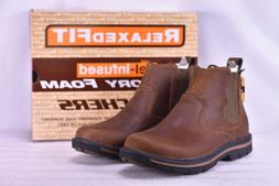 Men's Skechers Segment Dorton Ankle Boots Dark Brown