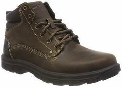 Skechers Men's Segment-Garnet Hiking Boot, Chocolate, Size 1