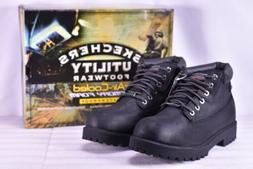Men's Skechers Sergeants- Verdict Work Boots Black