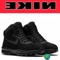 Nike Men's Size 10 Manoadome Winter Hiking Boots Black Anthr