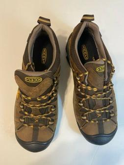 KEEN Men's Targhee II Hiking Shoes, Cascade Brown/Golden Siz