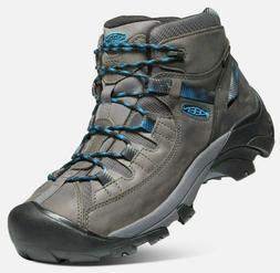 KEEN Men's Targhee II Mid Waterproof Hiking Boot Steel Grey