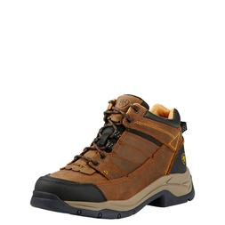 Ariat® Men's Terrain Pro Bison Brown Lace-up Hiking Boots 1