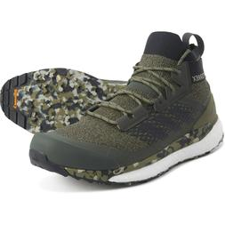 Adidas Men's Terrex Free Hiker US 14 M Olive Green Synthetic