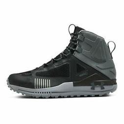 Under Armour Men's Verge 2.0 Mid GTX Hiking Shoe, Black, Siz