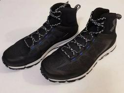 Men's Under Armour Verge Mid Hiking Boots Black/Ultra Blue.